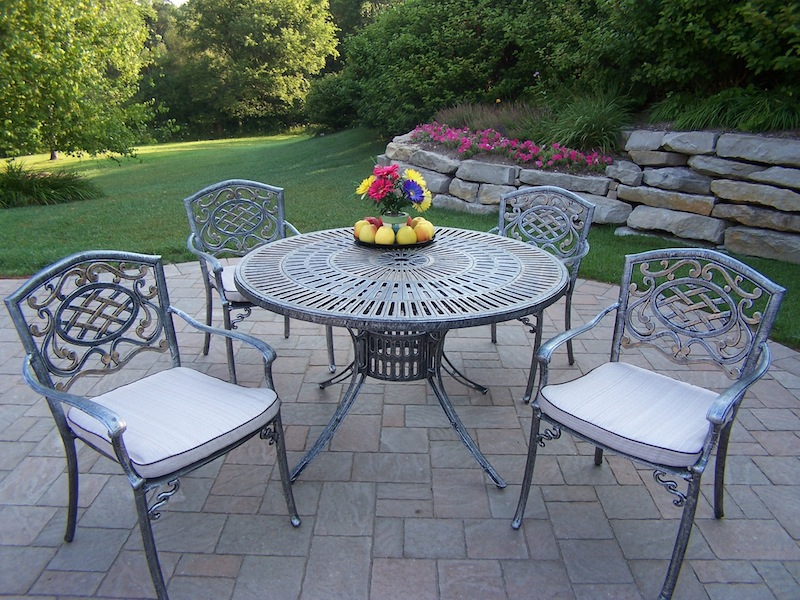 Oakland Living Cast Aluminum Furniture Hewlynn Home Garden Center