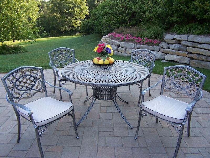 Oakland Living Cast Aluminum Furniture Hewlynn Home Garden Center